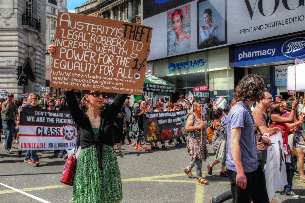 Austerity if theft courtesy of Lee Nichols on Flickr