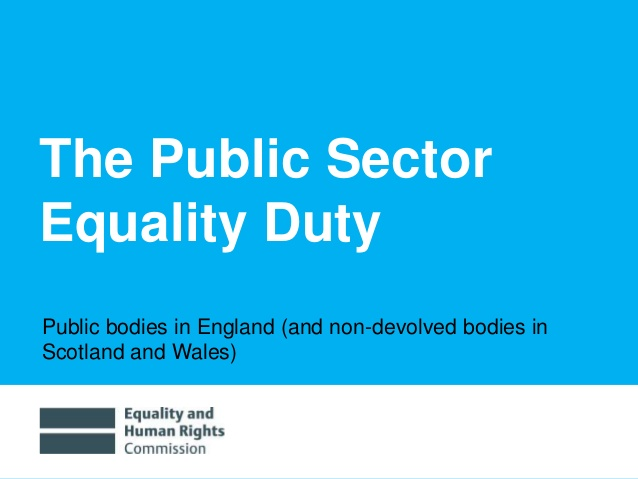 Public Sector Equality Duty Evidence