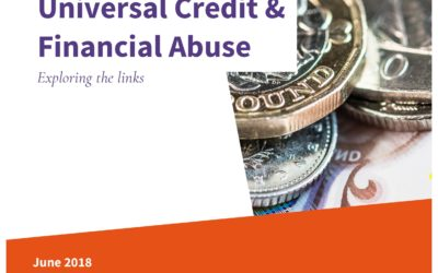 Universal Credit and financial abuse: exploring the links