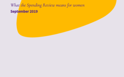 An End to Austerity? What the Spending Review means for women