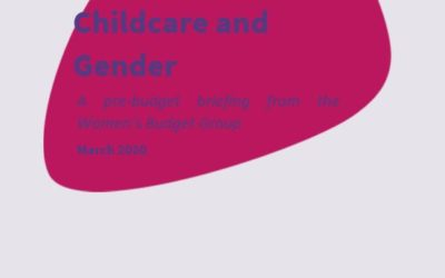 2020 WBG Briefing: Childcare and gender