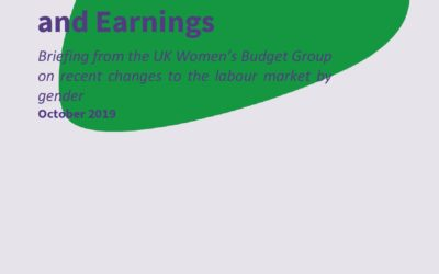 2019 WBG Briefing: Gender, employment and earnings