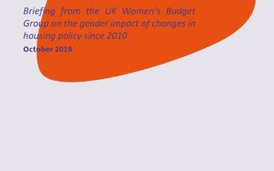 2019 WBG Briefing: Housing and gender