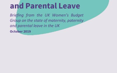 2019 WBG Briefing: Maternity, Paternity and Parental Leave