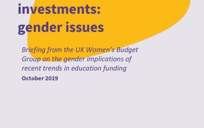 2019 WBG: Tax on saving and investment: gender issues