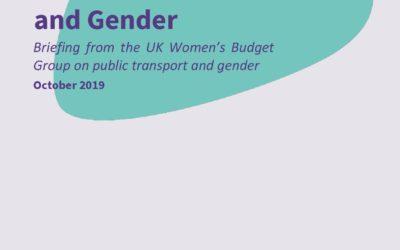 2019 WBG Briefing: Public transport and gender