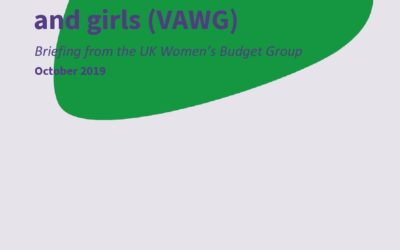 2019 WBG Briefing: Violence against women and girls (VAWG)
