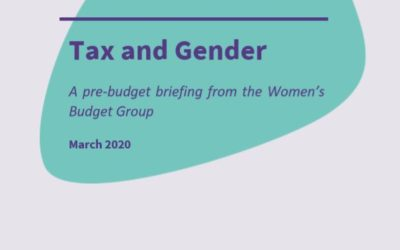 2020 WBG Briefing: Tax and Gender