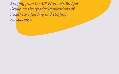 2019 WBG Briefing: Health and Gender