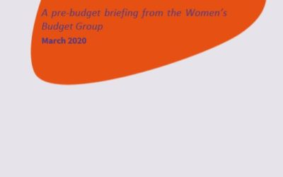 2020 WBG Briefing: Housing and gender