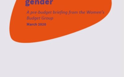 2020 WBG Briefing: Social care and gender