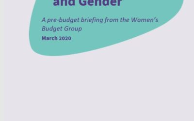 2020 WBG Briefing: Public transport and gender