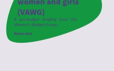 2020 WBG Briefing: Violence against women and girls (VAWG)