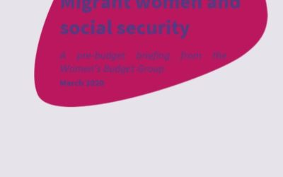2020 Briefing: Migrant women and social security