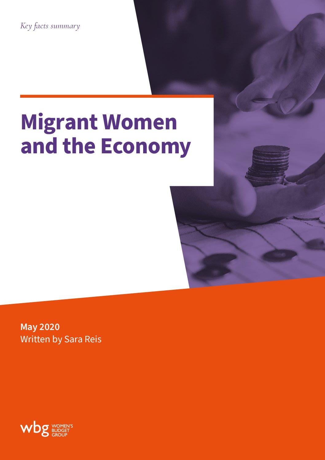 Latest Report: Migrant Women and the Economy