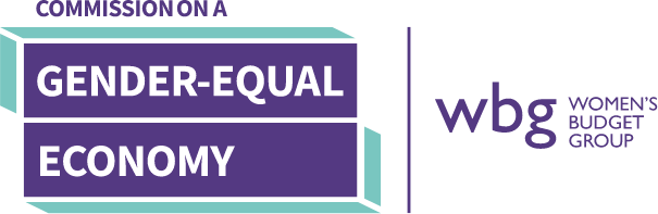 The Commission on a Gender-Equal Economy logo.