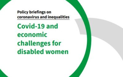 Covid-19 and Economic Challenges for Disabled Women