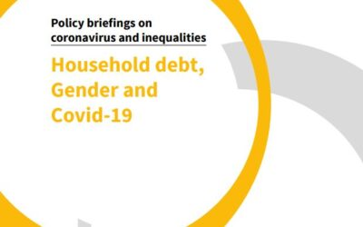Household Debt, Gender and Covid-19