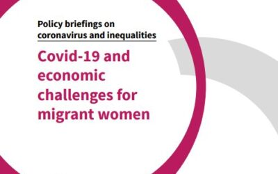 Covid-19 and Economics Challenges for Migrant Women