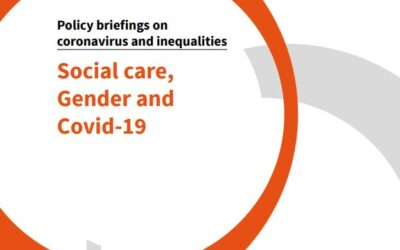 Social Care, Gender and Covid-19