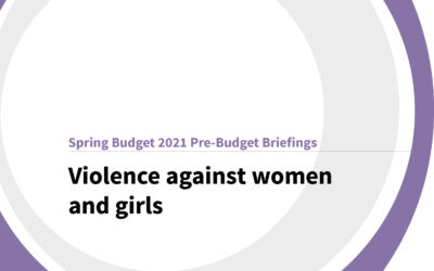 Spring Budget 2021: Violence against women and girls