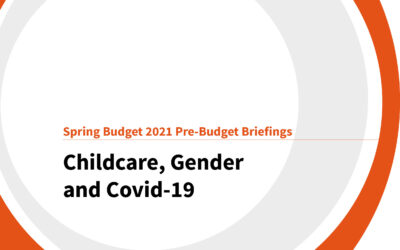 Spring Budget 2021: Childcare, gender and Covid-19