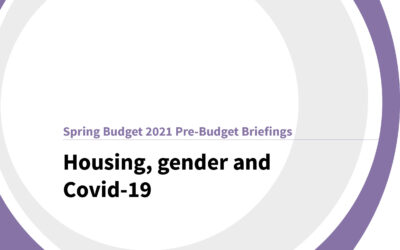 Spring Budget 2021: Housing, gender and Covid-19